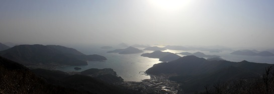 Geoje Sunset Panoramic