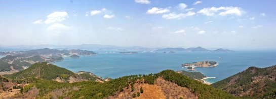East China Sea from Daegeum Peak, Geojedo
