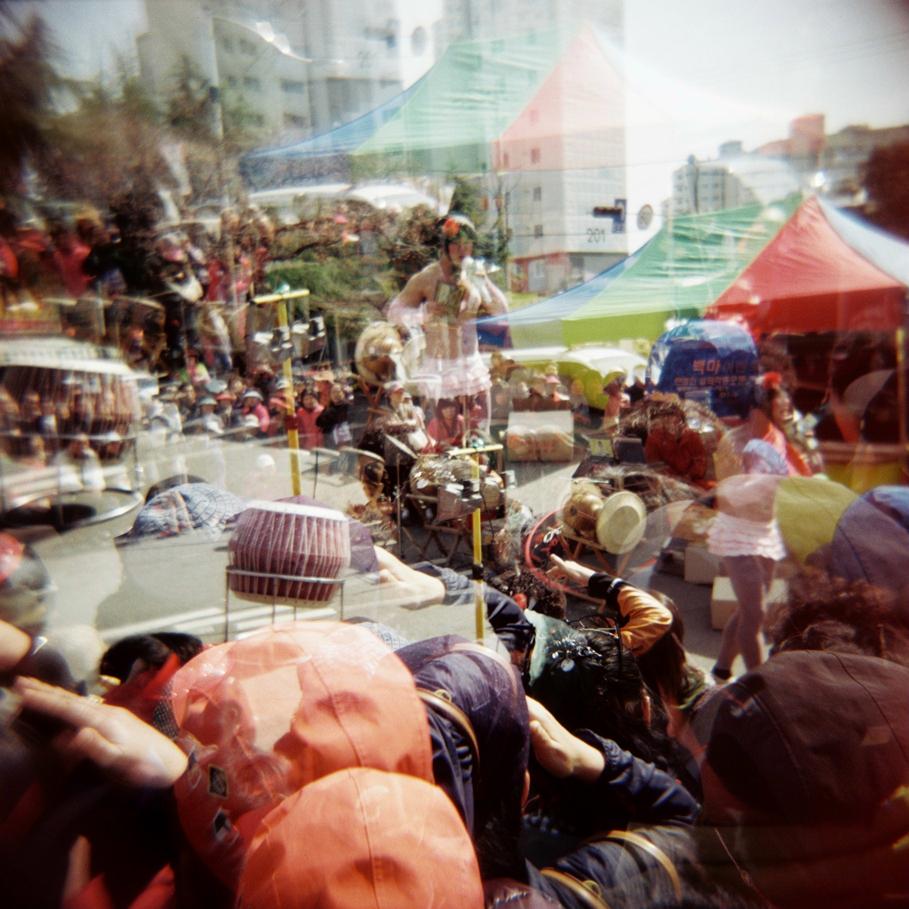 Tranny at Jinhae Cherry Blossom Festival