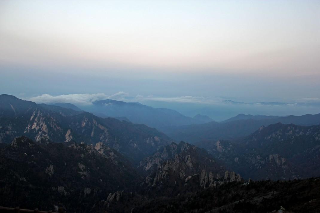 Seoraksan Before Sunrise