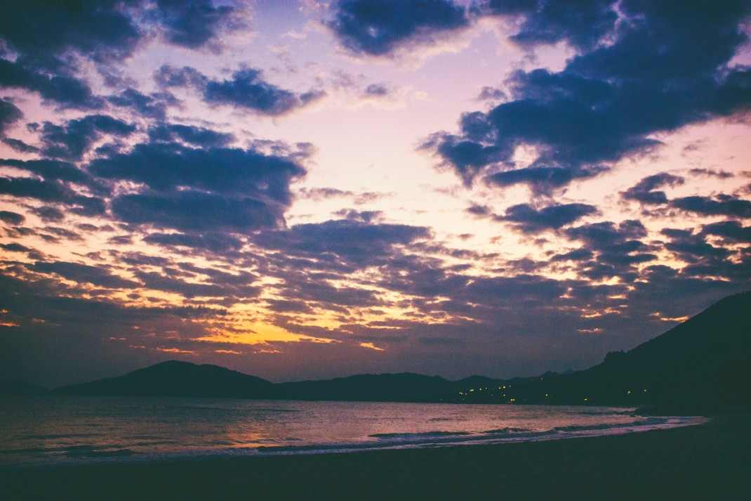 Lower Cheung Sha Beach Sunset