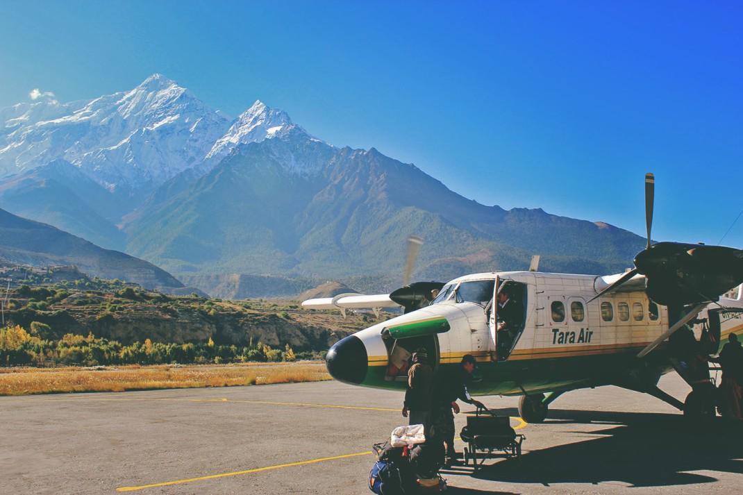Jomson Airport, Annapurna Circuit Day 11