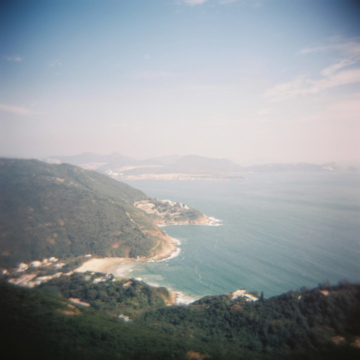 Hong Kong's Dragon's Back Holga