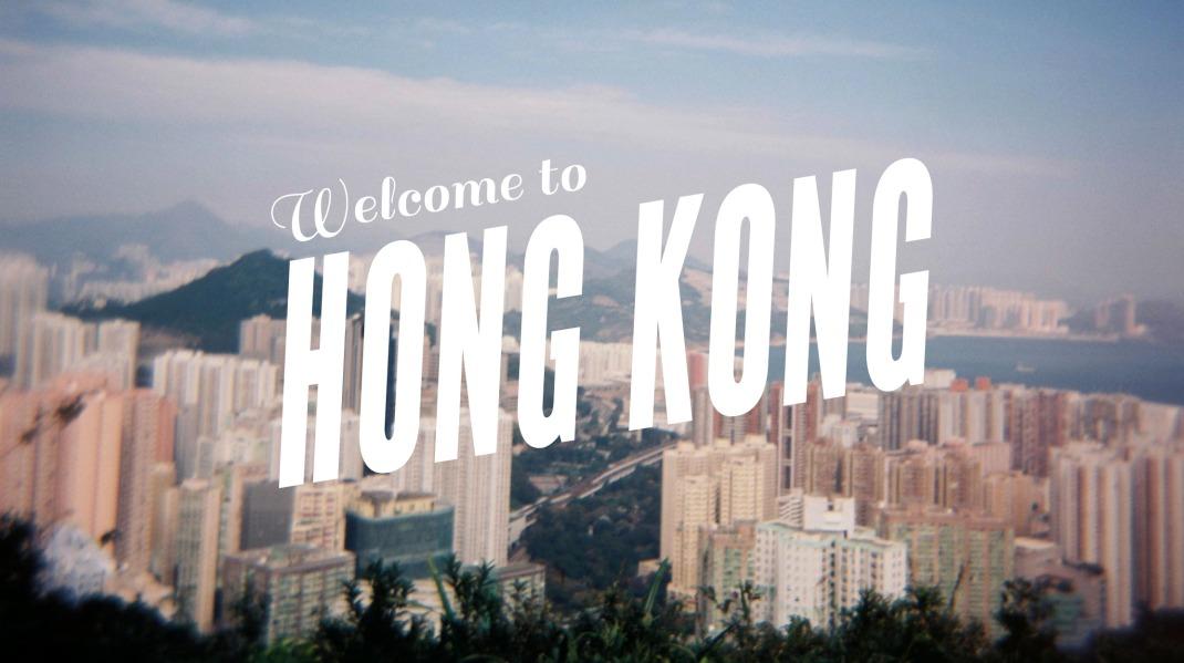 Hong Kong's Dragon's Back Holga