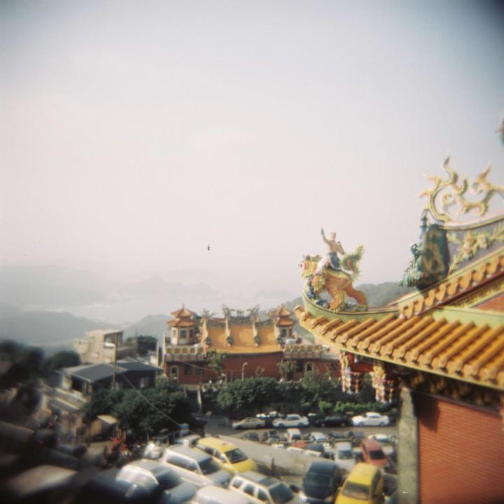Fushan Temple, Jiufen, Holga