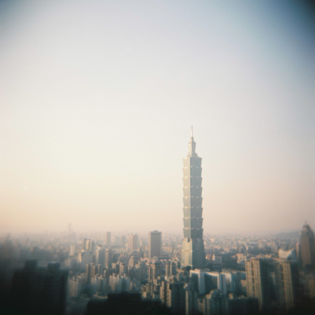 Elephant Mountain Holga