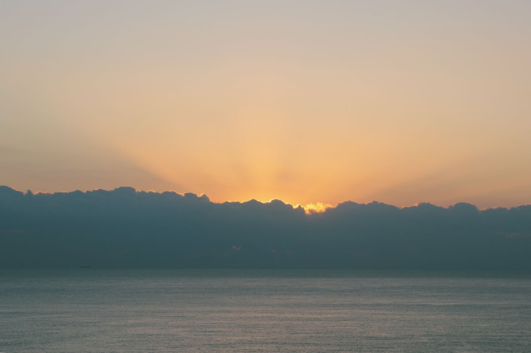 Sunrise, Qingshui Cliff, Taiwan
