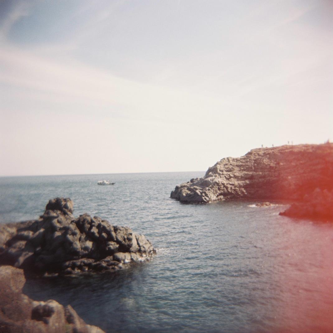 Oedolgae Rock, Jeju Island, Holga