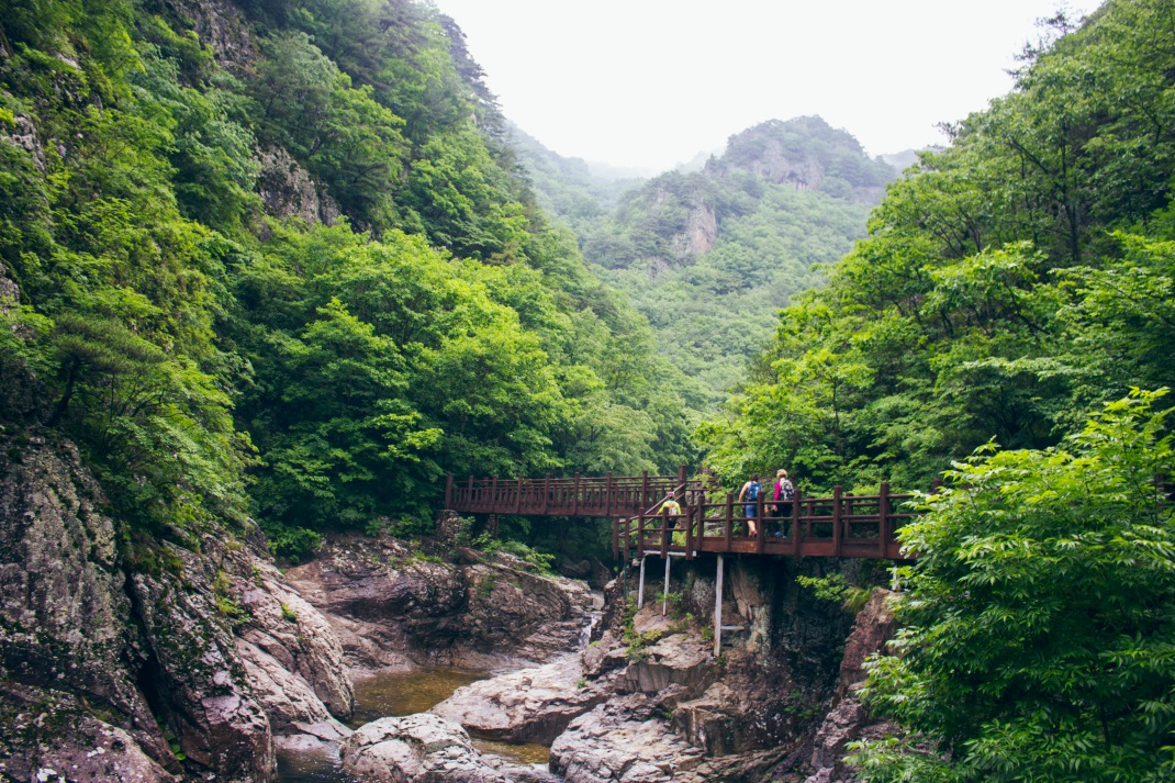 Jubang Valley, Juwangsan National Park